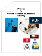29333716-Project-on-telecom-industry