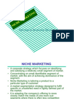 6.Niche Marketing