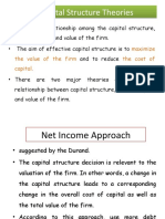 capital structure theories
