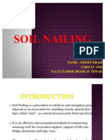 SOIL NAILING PPT