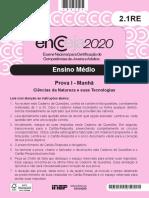 2020 PV EM Ciencias Natureza