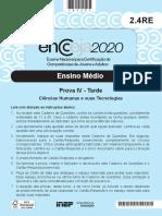 2020 PV EM Ciencias Humanas
