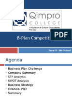 Welingkar scholars conquer at Qimpro B-plan Contest