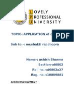 aplication of op-amp