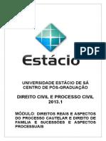 Novo Caderno de Direitos Reais, Procedimentos Especiais, Familia e Procedimentos de Familia