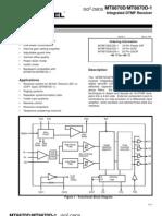 MT8870-DTMF Reciever