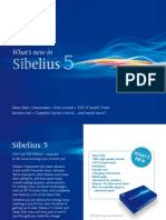 What's new in Sibelius 5