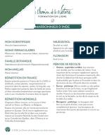 Formation du Cueilleur - Fiche plante - Marronnier d'Inde - print