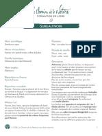 Formation du Cueilleur - Fiche plante - Sureau noir - print