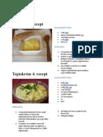 tojásos receptek