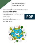 CDS Geografie Clasa a VI-A