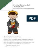 A Merenda Con San Domenico Savio - Ok
