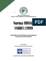 Norma OHSAS 18001