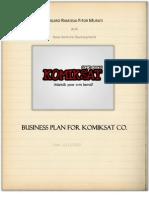 A. Ramosaj - F. Murati- KOMIKSAT CO.Business Plan