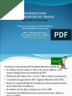 3. Introduction à la Médecine du travail (Pr NAFAI)