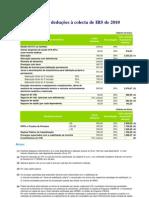 Deloitte 2010 Deducoes a colecta IRS