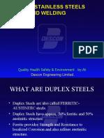 duplex stainless steel welding