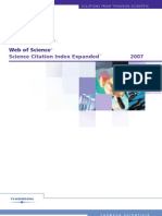 Web of Science - Science Citation Index Expanded