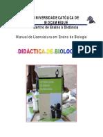 Didactica Biologia I