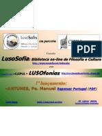 LUSOSOFIA - LUSOfonias - Lançamento Abril2011