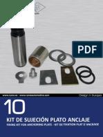 10_kit de Sujeción Plato Anclaje