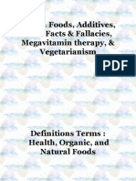 Health Foods, Additives, Food Facts &