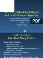 500 Cost Reduction Strategies