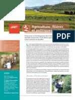 Fiche-Thematique AGRICULTURE 2020