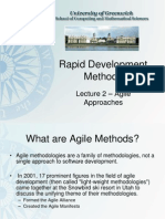 2 RDM Agile Approaches
