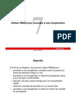 Microsoft PowerPoint - les_07_RMAN_rec_fr
