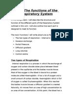 4.2 - Respiratory System