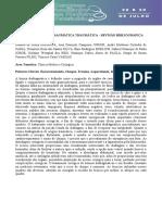 Herniorrafia diafragmática traumática