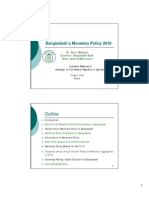 Bangladesh's Monetary Policy 2010