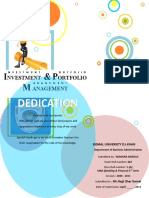 Investment Program for Banking Sector-Investment and Portfolio Mgt Project