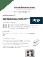 Compressao-bloco concreto