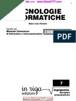 Tecnologie Informatiche Estratto Dal Manuale Cremonese Di Informatica e Telecomunicazioni Zanichelli - Marco Lino Ferrario