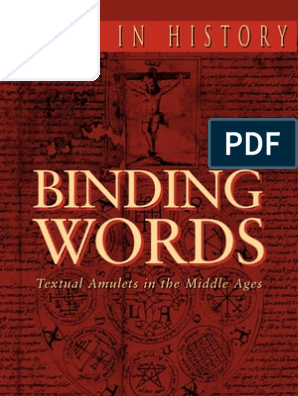 Skemer Don Binding Words Textual Amulets In The Middle