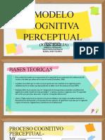 MODELO COGNITIVO PERCEPTUAL t.o