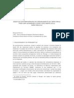DESAFIOS CONTEMPORÂNEOS DO ORDENAMENTO DO TERRITÓRIO