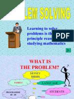 1 PROBLEM SOLVING