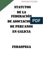 Anteproyecto de Estatuto de la Federación