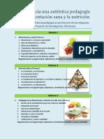 Curso Hacia una auténtica pedagogía de la alimentación sana y la nutrición óptima