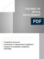 Theories in Retailing