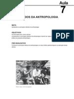 Antropologia I aula 7