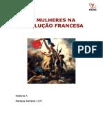 o papel da mulher na revolução francesa