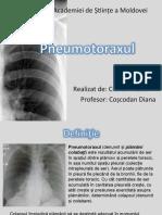 pneumotorax - boala respiatorie