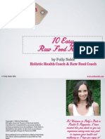 Excerpt from Polly's 10 Free Easy Raw Food Recipes
