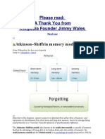 atkinson shiffrin modal model