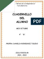 Cuadernillo 4 B Octubre