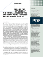 Arms transfers to the Democratic Republic of the Congo